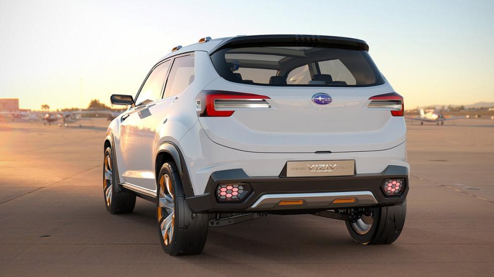 Subaru VIZIV Future Concept trasera