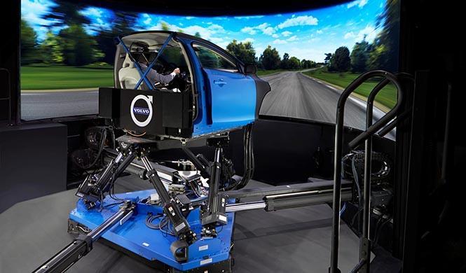 Simulador de Chasis de Volvo