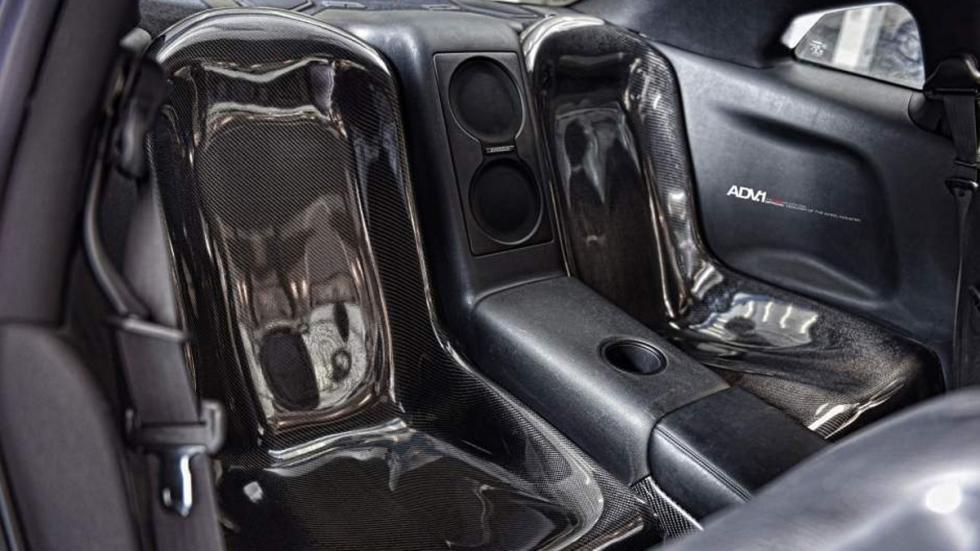 Nissan GT-R ADV-1 dorado plazas traseras carbono AMS