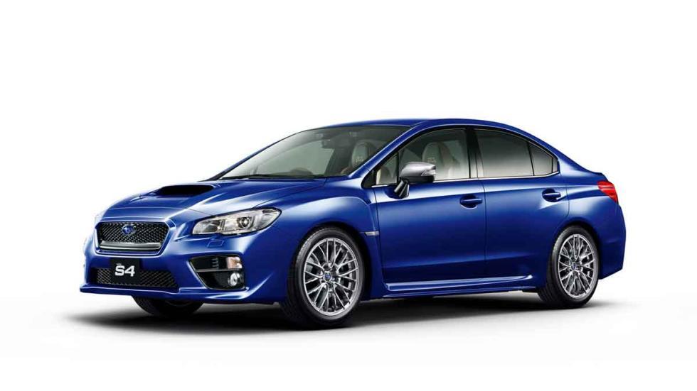 Subaru WRX S4 SporVita tres cuartos lateral