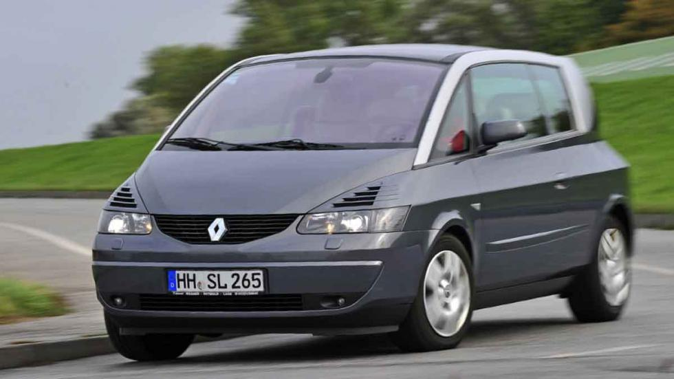 Renault Avantime tres cuartos delanteros