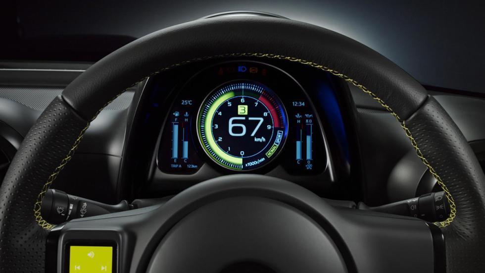 Toyota S-FR volante