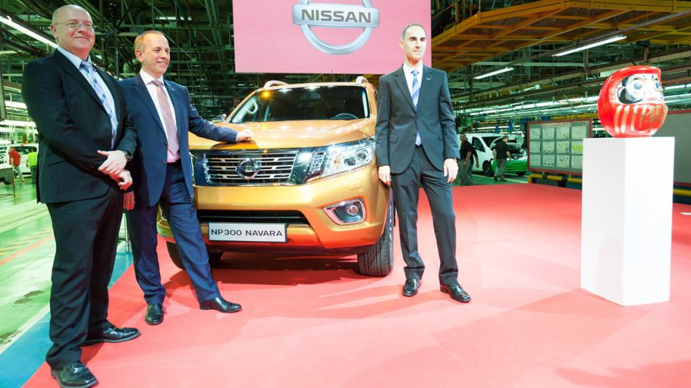 Nissan NP300 Navara fabrica barcelona willcox