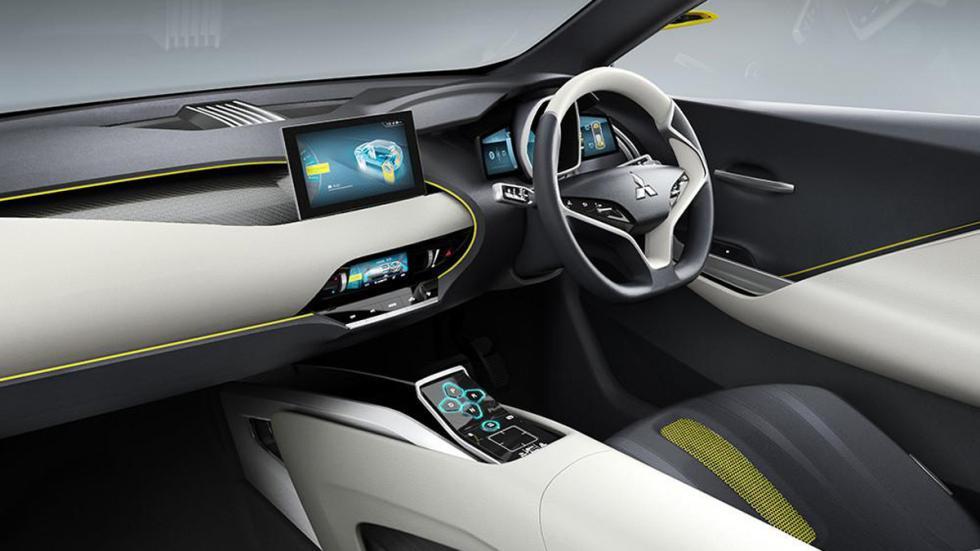 Mitsubishi eX Compact Crossover interior