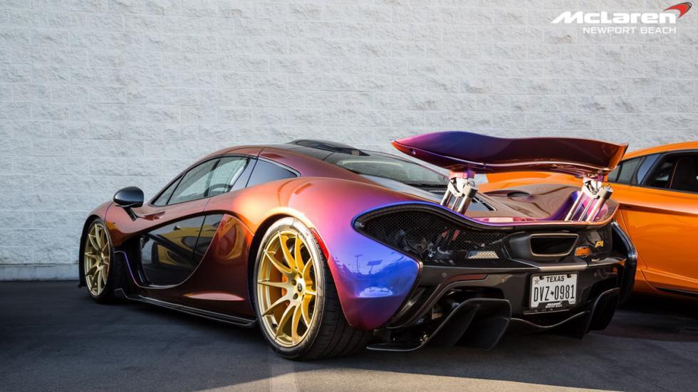 McLaren Newport Beach p1 camaleon