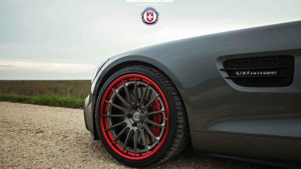 Mercedes AMG GT S con llantas HRE detalle