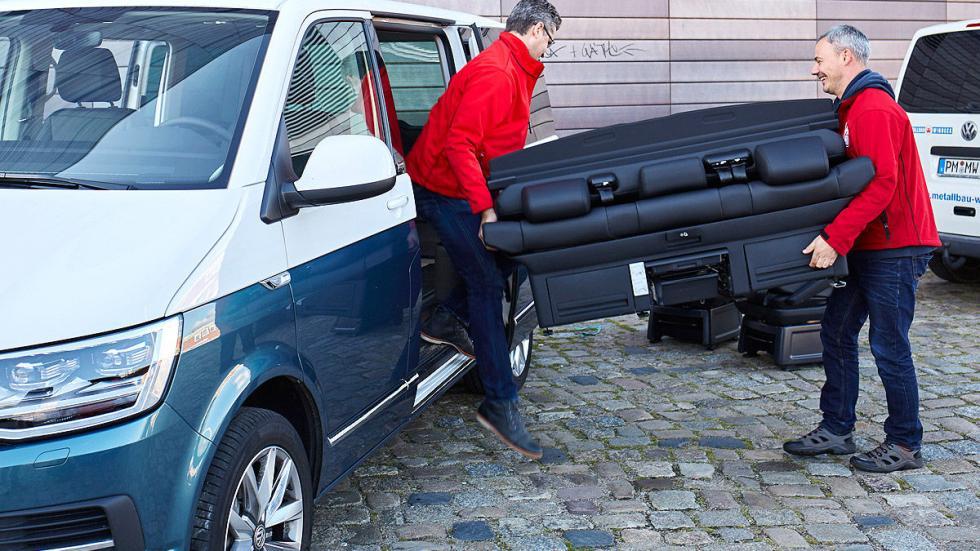 Volkswagen T6 desmontaje