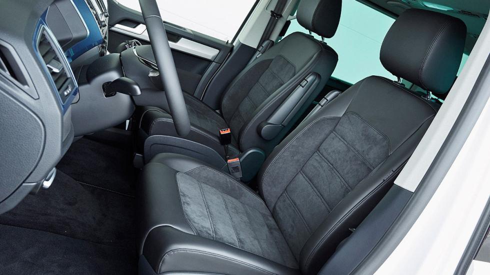 Volkswagen T6 delanteras
