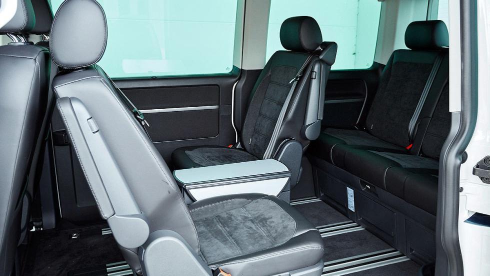 Volkswagen T6 delanteras modulación