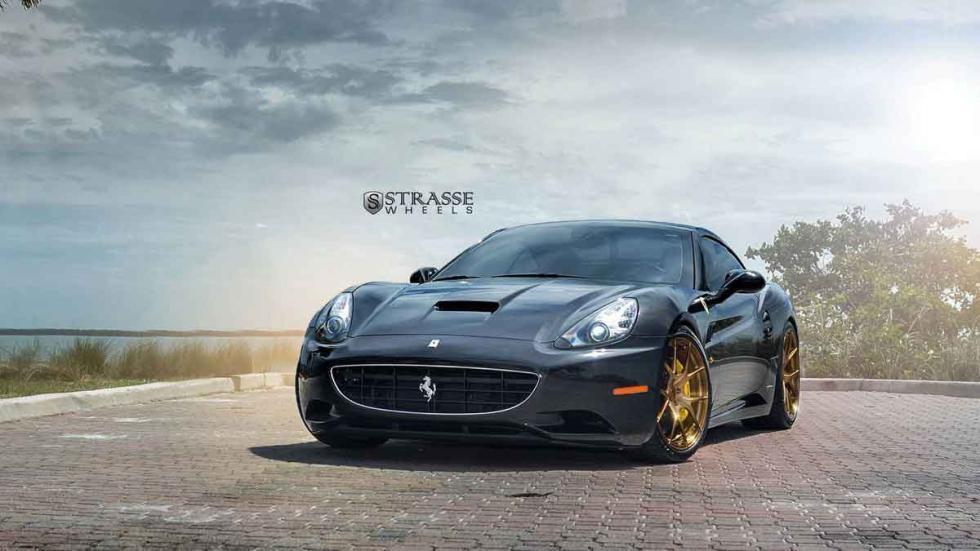 Ferrari California con llantas Strasse frontal