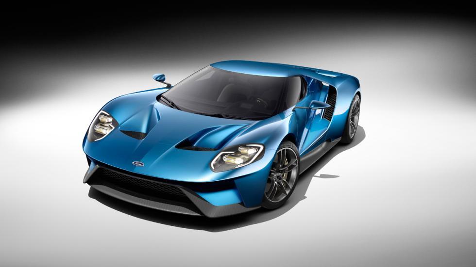 ¡Llantas de fibra de carbono para el Ford GT 2017!