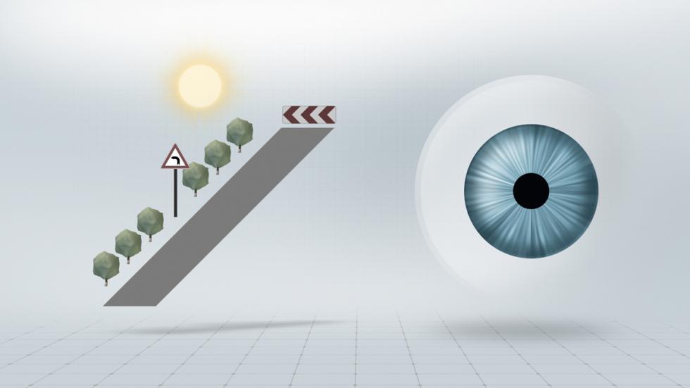 DriveSafe: pupila contraída con mucha luz
