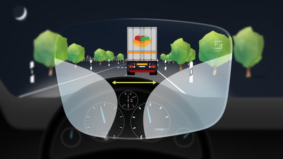 enfoque de lejos con las bifocales DriveSafe