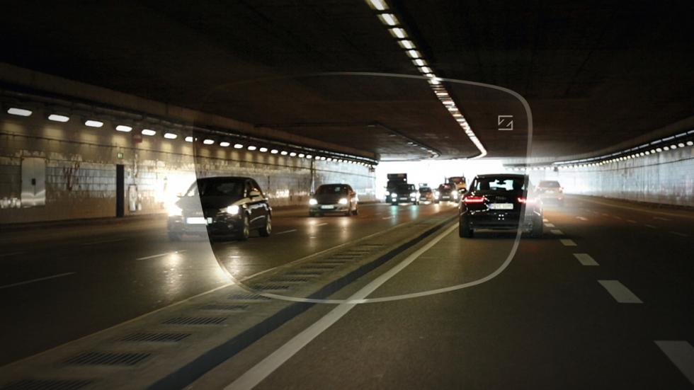 DriveSafe visión en túnel