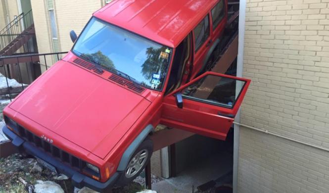 Jeep Cherokee accidente