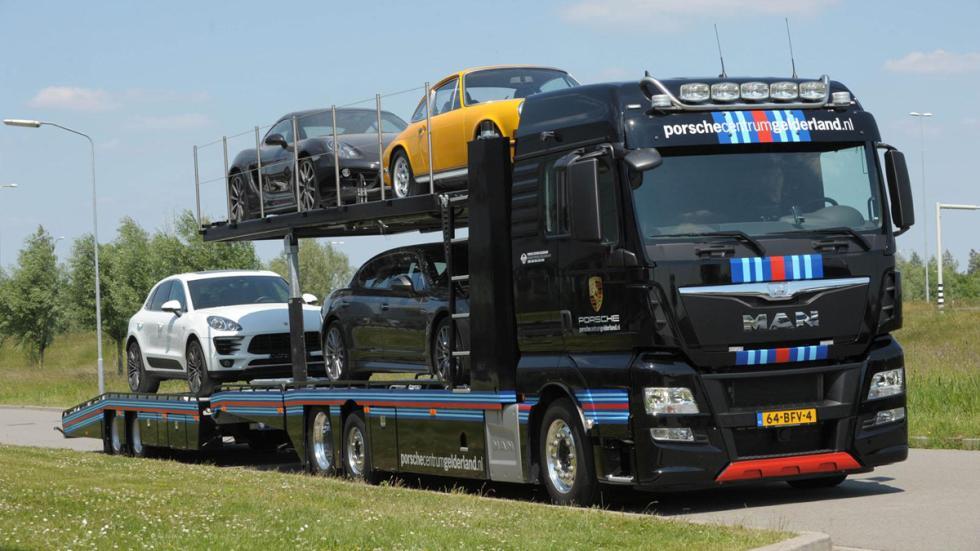 Camion MAN Porsche