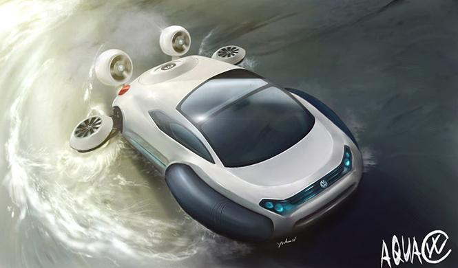 Aerodeslizador Volkswagen Aqua 5