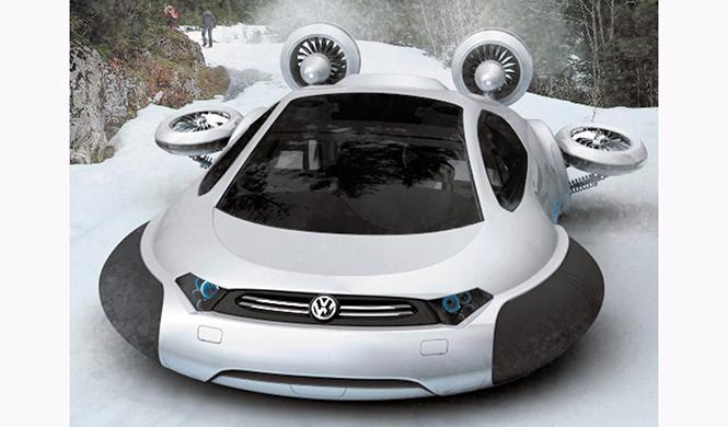 Aerodeslizador Volkswagen Aqua 6