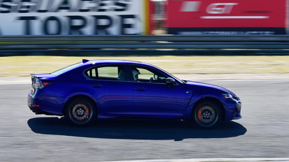 Prueba Lexus GS F