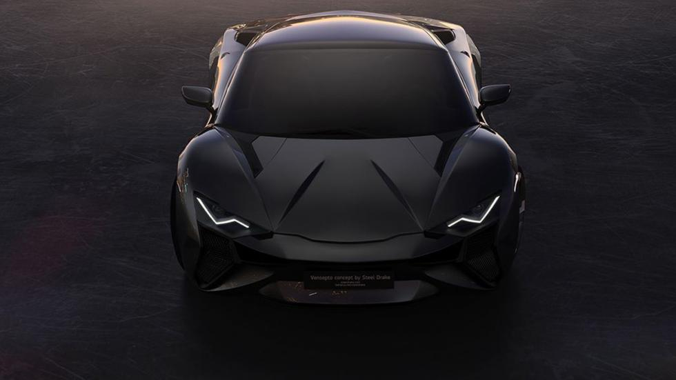 Vensepto concept car steel drake frontal