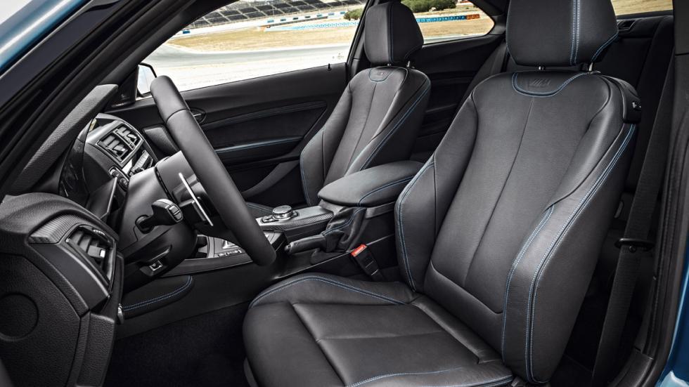 BMW M2 2016 asientos