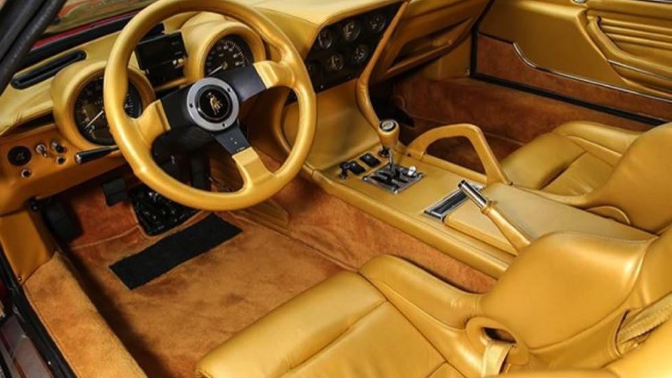 Lamborghini Miura Jota a la venta interior