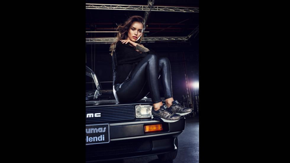 Galería: Melendi se sube al DeLorean de 'Regreso al Futuro'