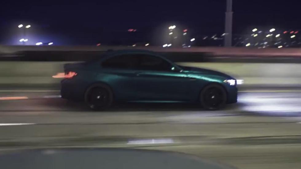 m2 rodando en autopista
