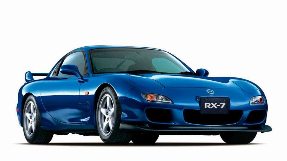 Mazda RX-7 delantera