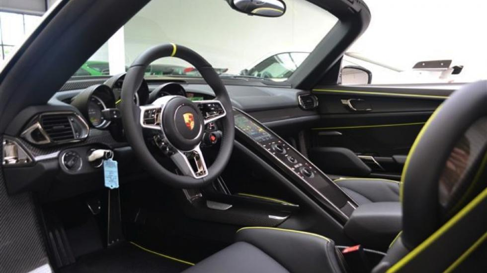 Porsche 918 Spyder venta volante