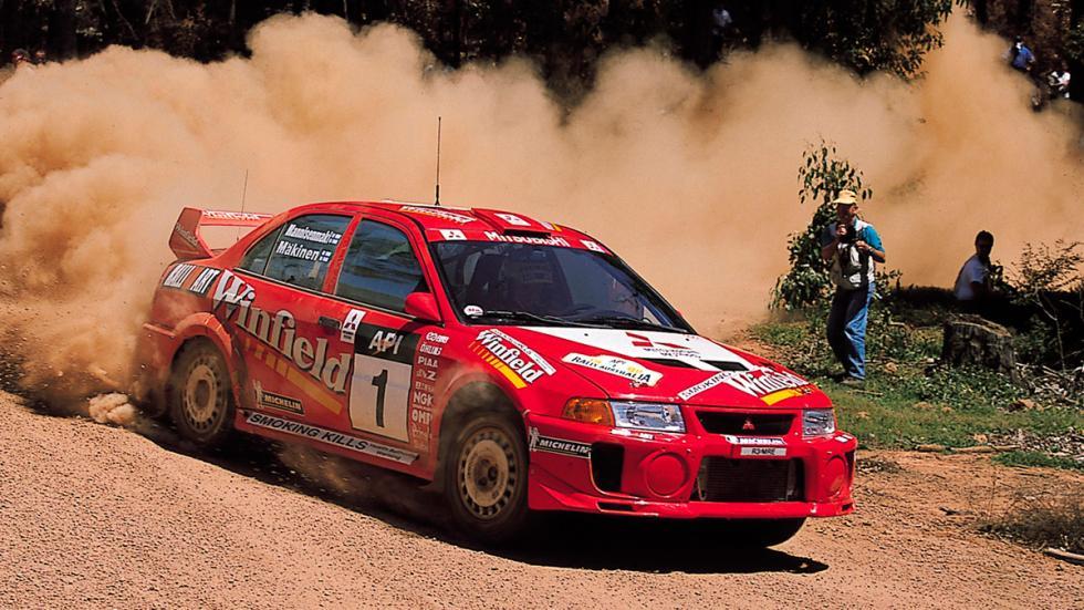 Mitsubishi Evolution en rallys
