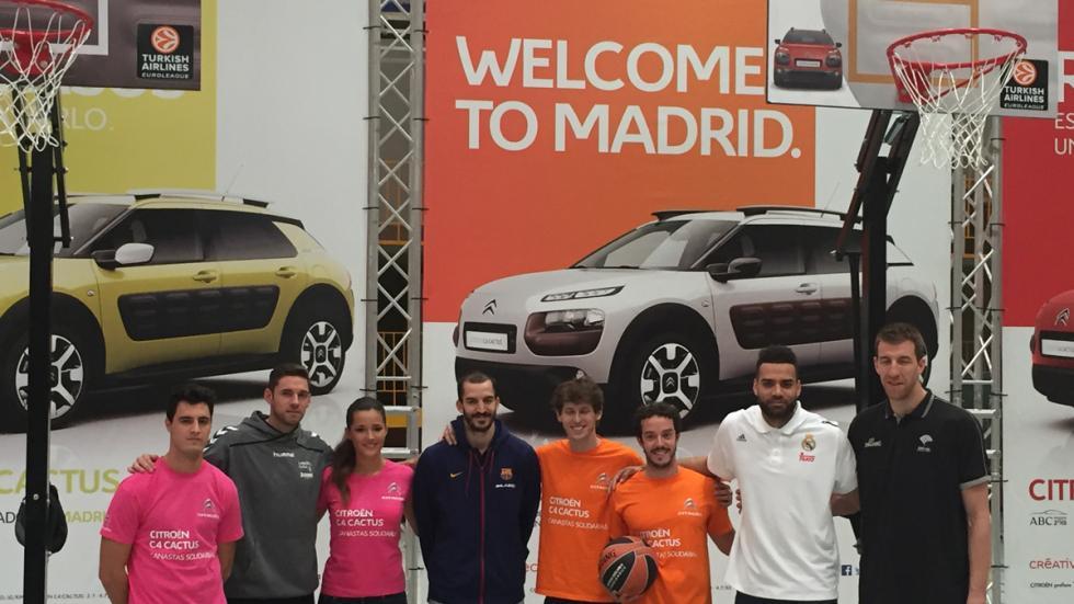 Canastas Solidarias Citroën con Malena Costa y Coronado
