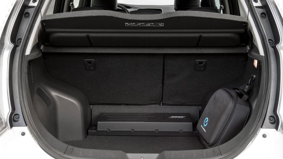 Nissan Leaf 2015 maletero