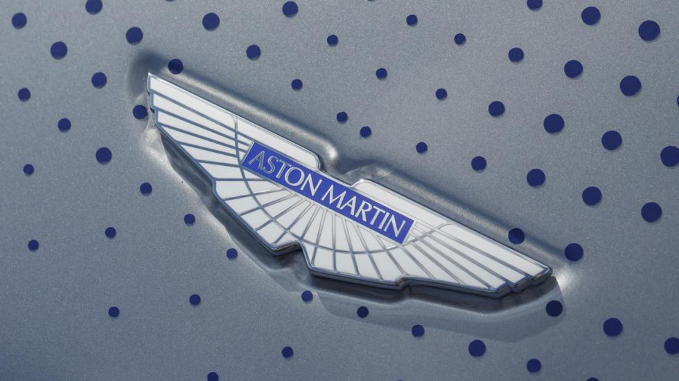 Aston Martin Rapide electrico emblema