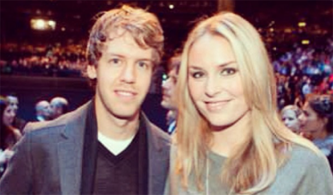 Vettel y Prater