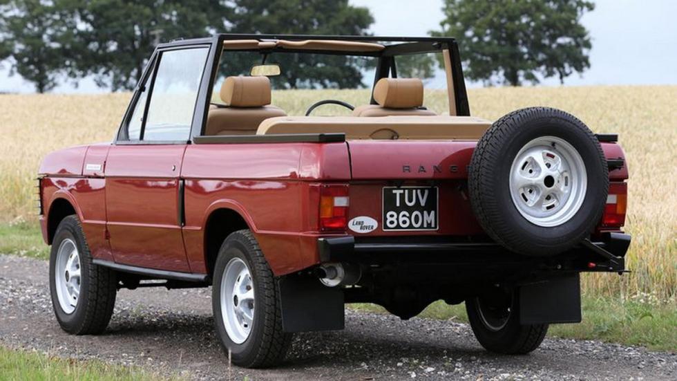 Range Rover 1973 Cabriolet trasera