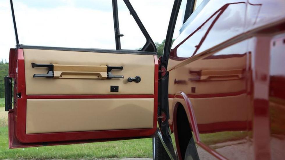 Range Rover 1973 Cabriolet detalle puerta