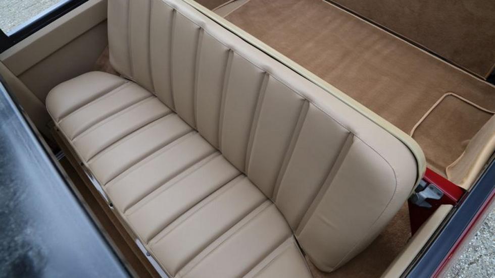 Range Rover 1973 Cabriolet plazas traseras