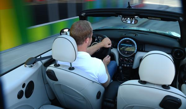 Mini Cabrio 2016 interior