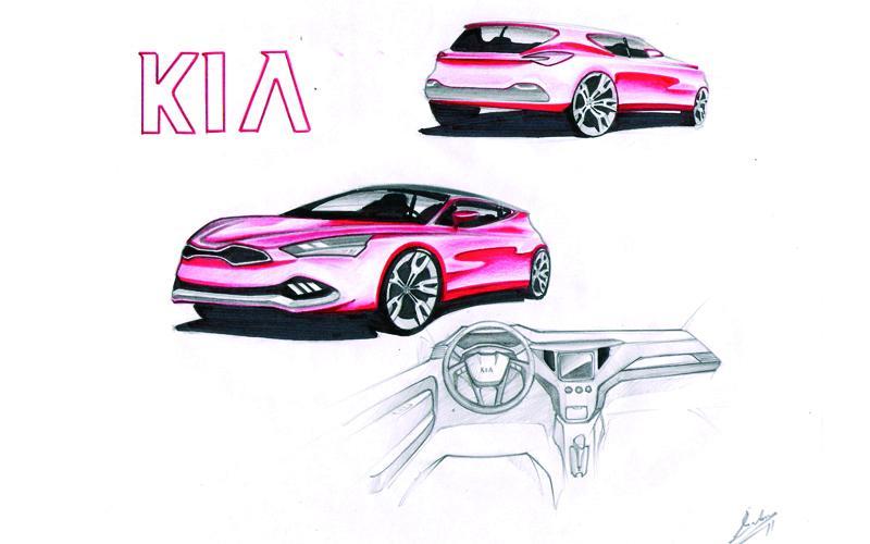 Finalistas del Concurso de diseño KIA AUTO BILD