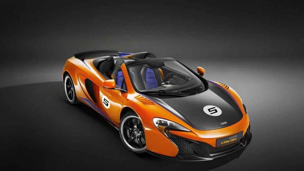 McLaren 650S Can-Am, en Papaya Spark.