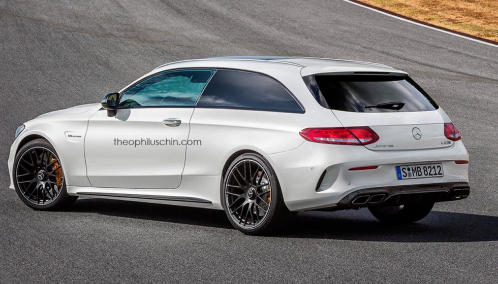 Mercedes AMG C63 S Shooting Brake