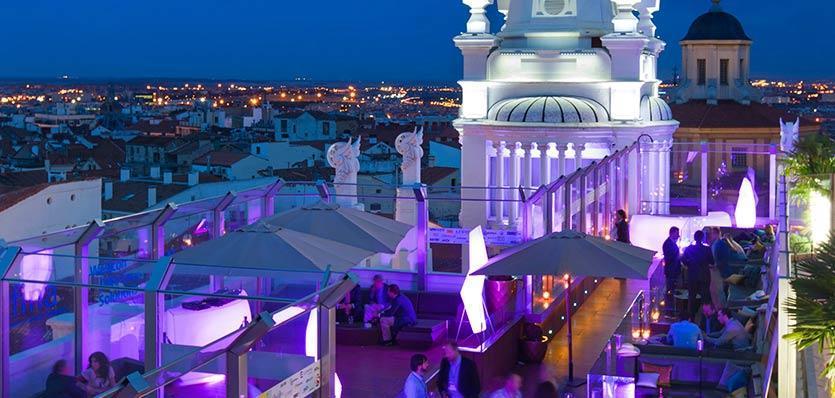 Terraza Hotel Me Madrid 7