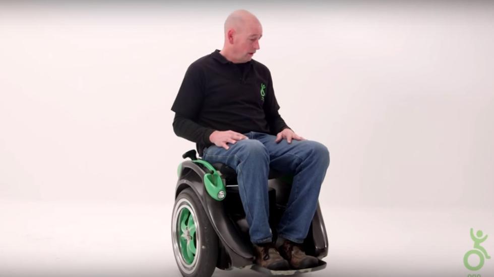 kevin halsall silla de ruedas eléctrica