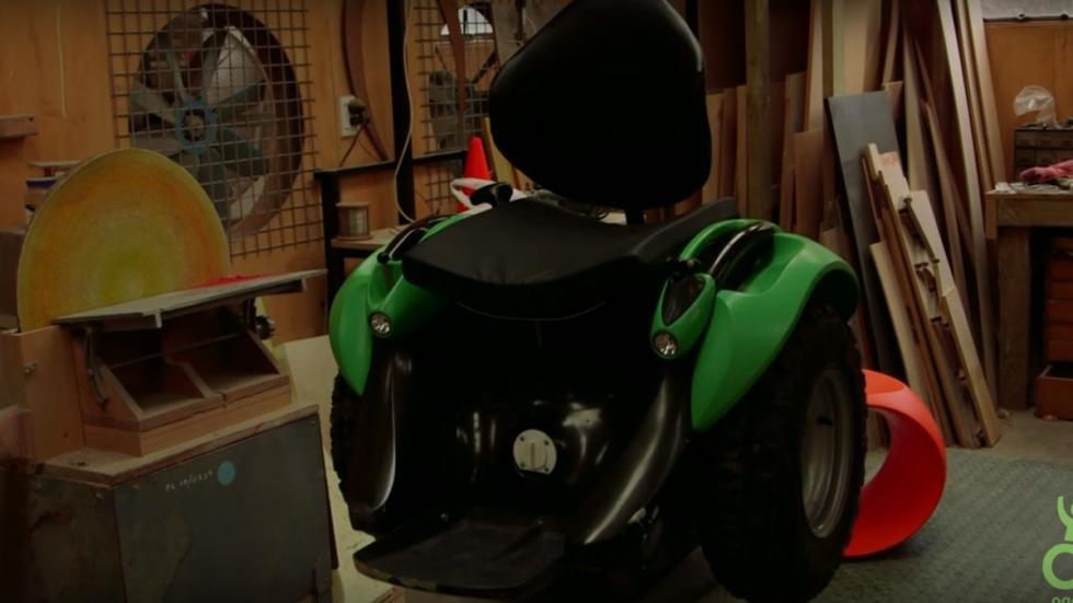 de segway a silla de ruedas