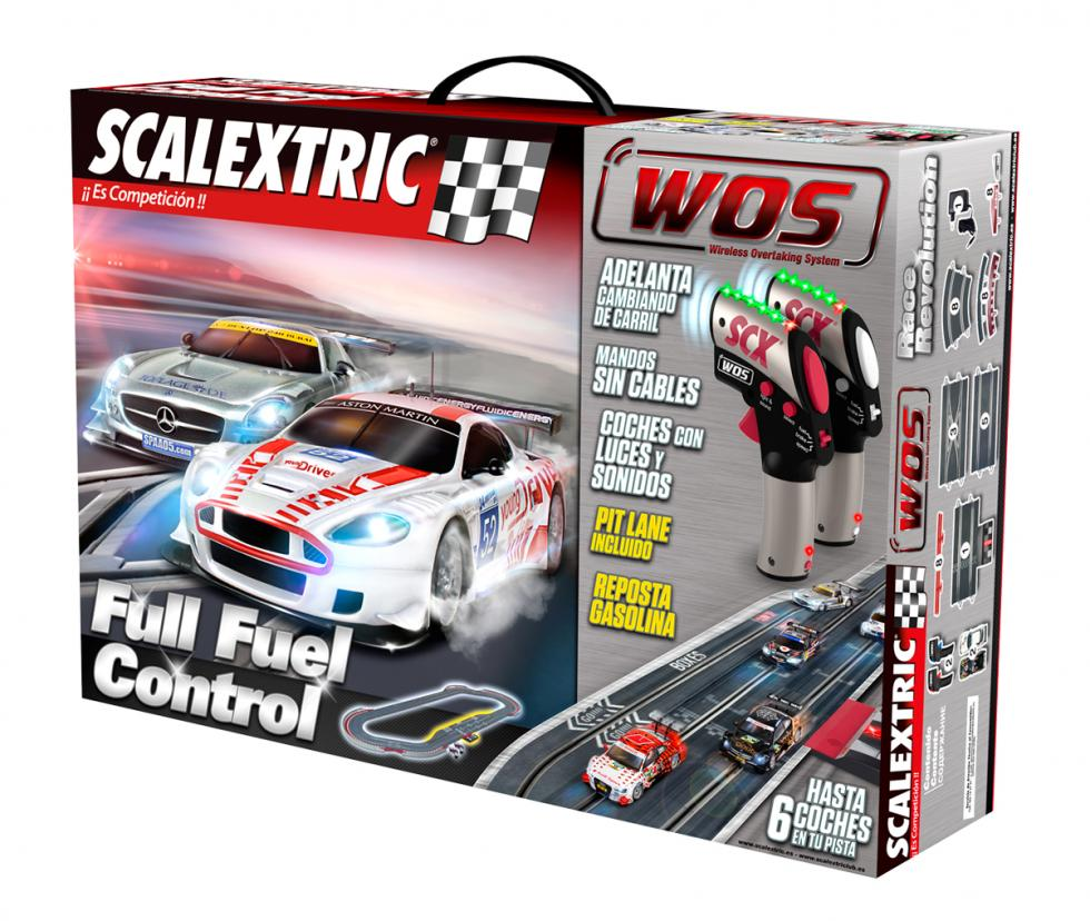 Scalextric WOS circuito Fuel Control caja