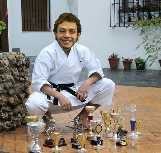 Valentino-Rossi-karateka