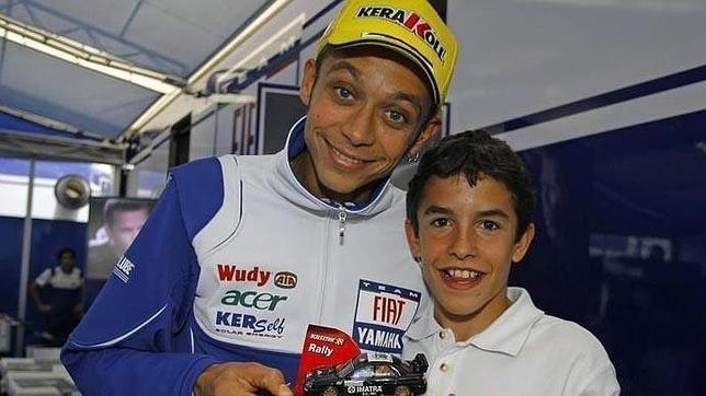 Rossi-Márquez-inicios