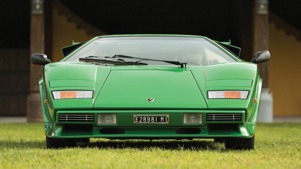 Lamborghini Countach LP400 S Verde frontal