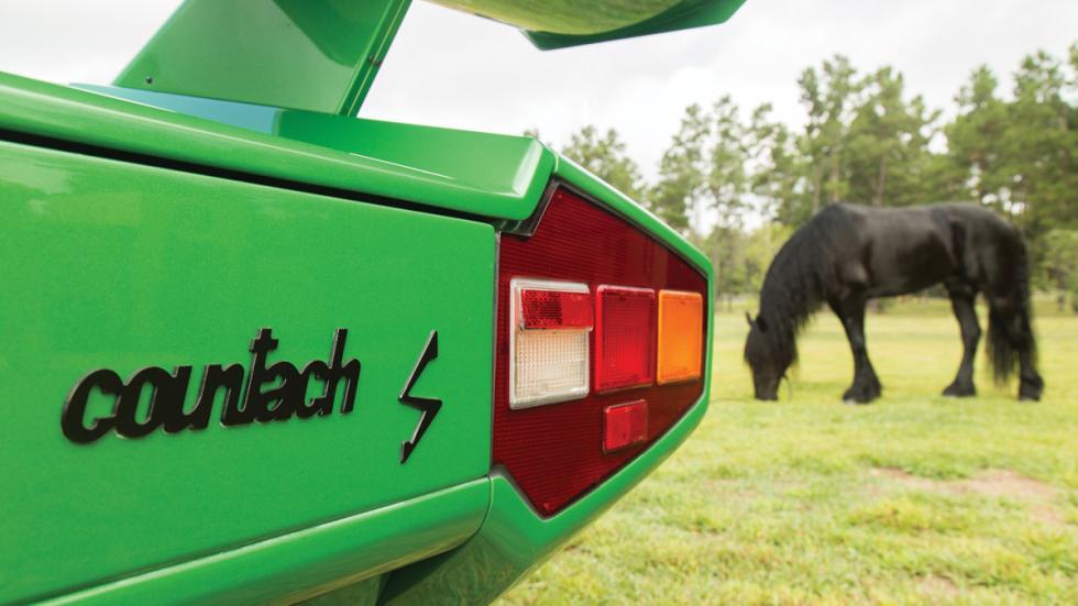 Lamborghini Countach LP400 S Verde detalle